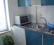 Rovinj apartment kitchen